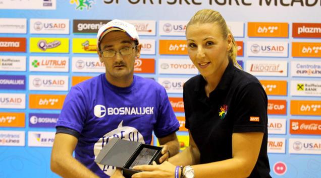 Admir Ašćerić, Mladi Ambasador Sportskih igara mladih 2016.