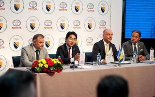 Naši dugogodišnji partneri Toyota i Olimpijski komitet BiH potpisali partnerski ugovor