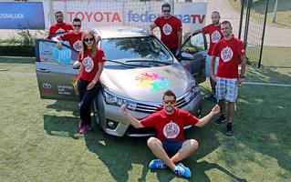 Zajedno sa kompanijom Toyota i šestu godinu pričamo najljepšu sportsku priču