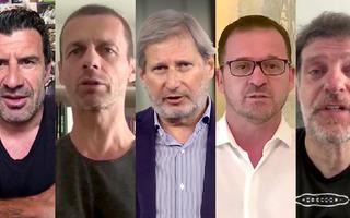 Kampanji #KodKuceJeZakon priključili se Figo, Čeferin, Hahn, Mijatović, Bilić,  Duvnjak i braća Karabatić