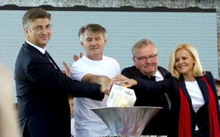 Svečano otvorene Sportske igre mladih u Hrvatskoj